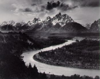 Ansel Adams Snake River