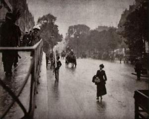 Snapshot Paris by Alfred Steigletz